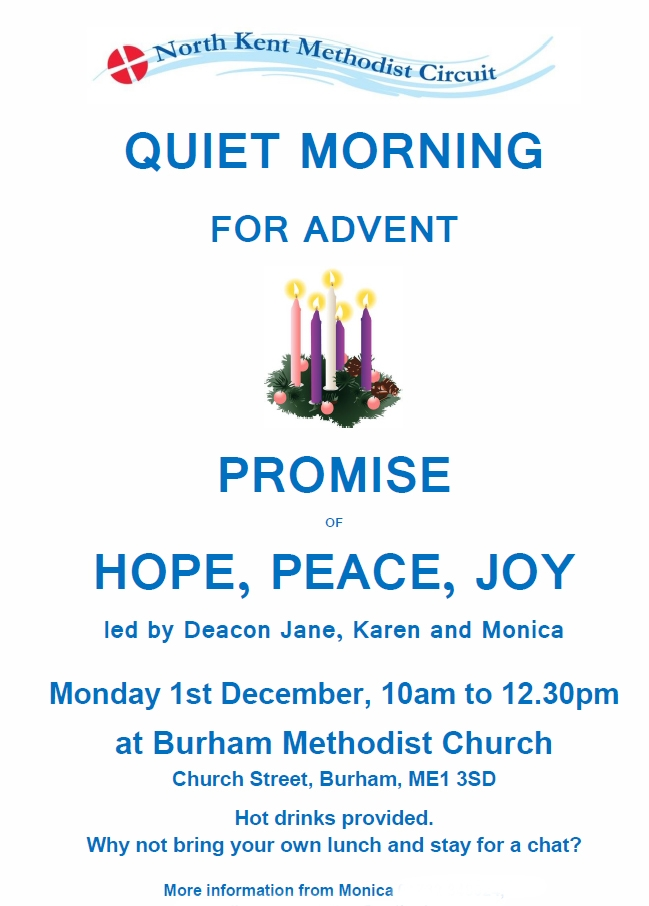 Advent Quiet Morning all