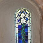 Blue Window in the Crypt