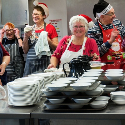 Lunch Club Kitchen Christmas 2015