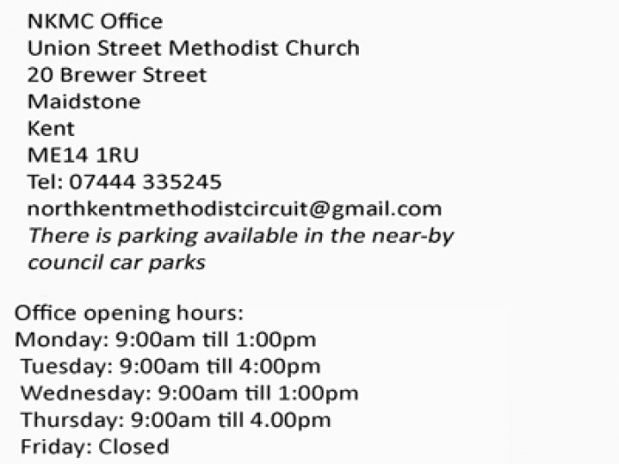 nkmc office hours