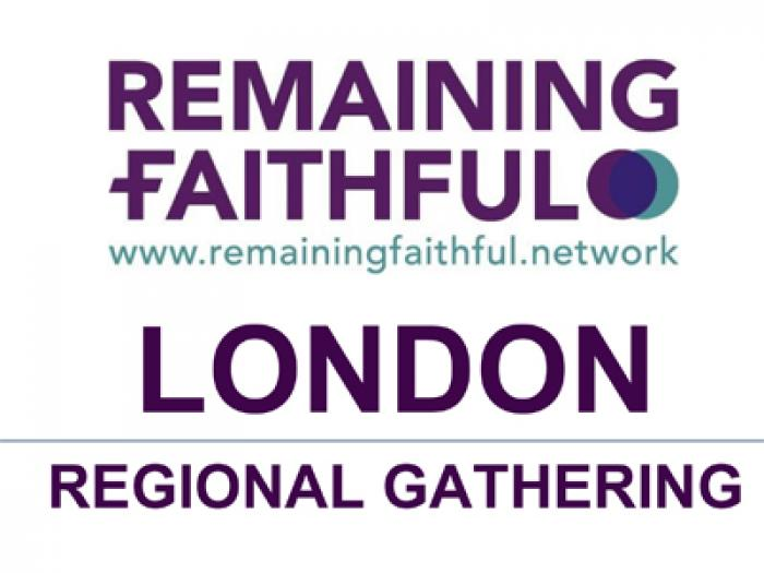 Regional Gathering Poster Central Hall Westminster