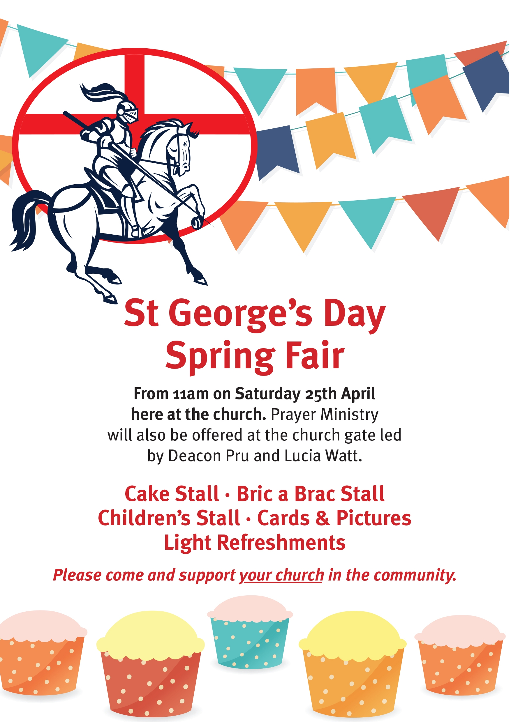 St Georges Day Flyer-CHURCH-A5
