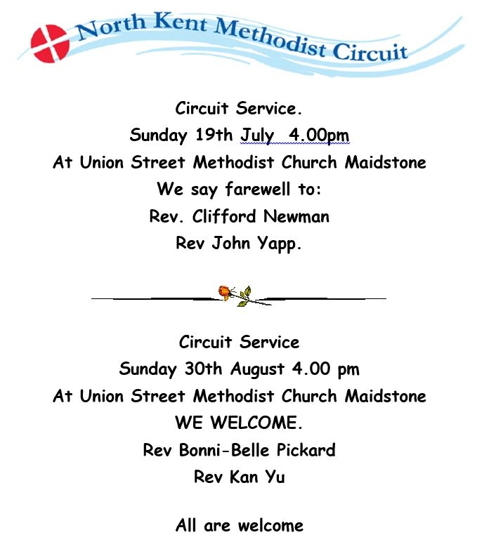 Summer 2015 Services